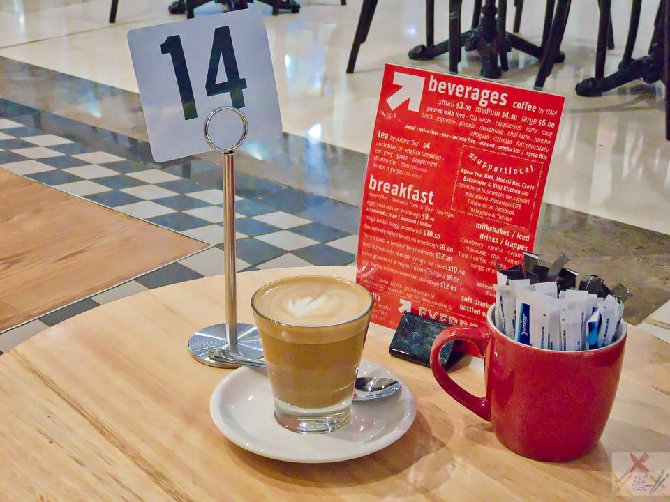 Coffee from Everbean Espresso Gary Lum