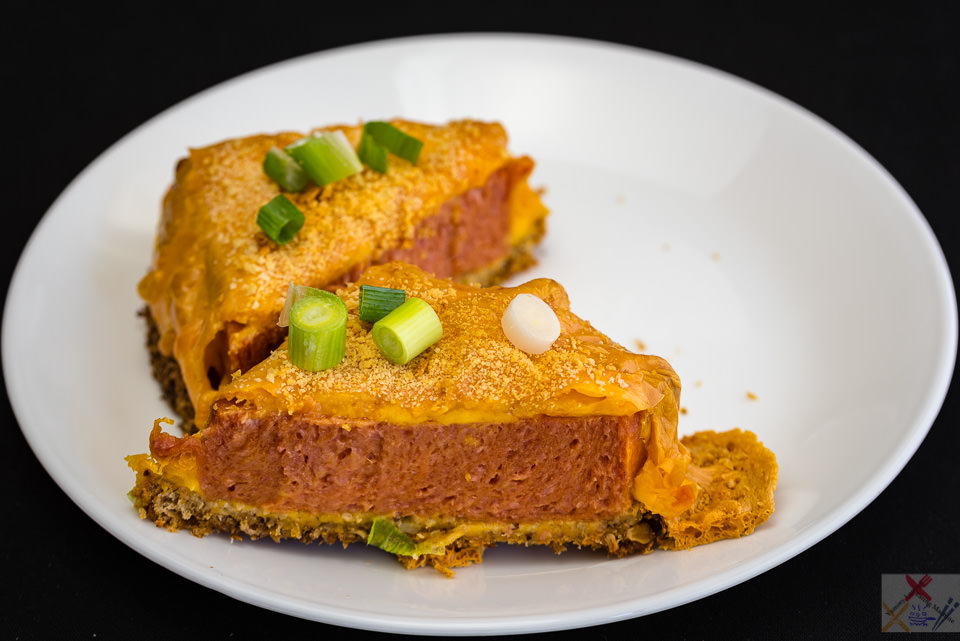 Hot and spicy Spam with melted smoked cheddar cheese on fried bread Gary Lum